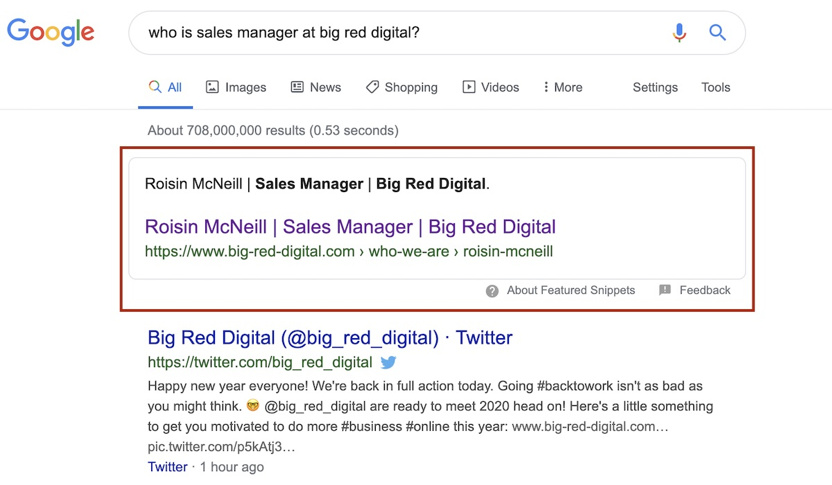 who is sales manager at Big Red Digital