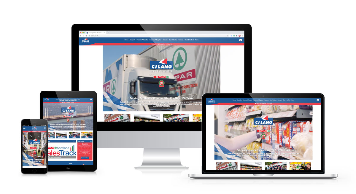 CJ Lang & Son Ltd Website