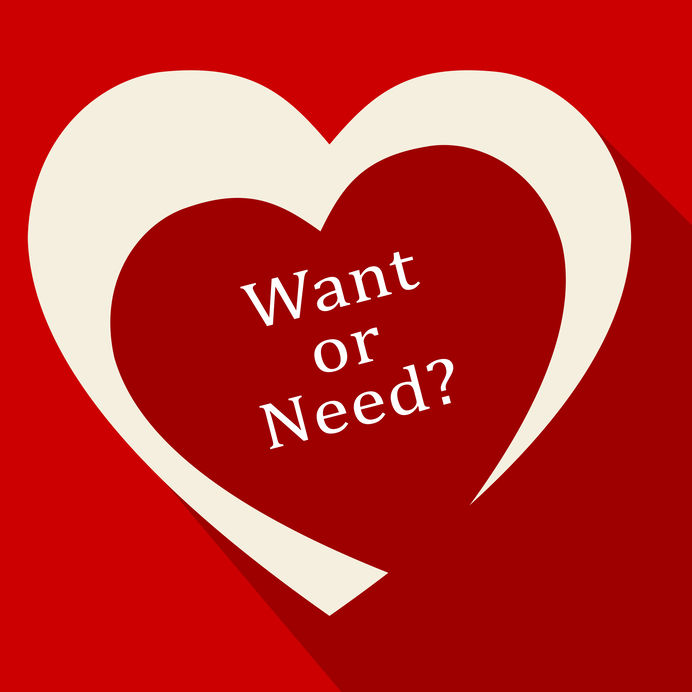 online sales - want vs need