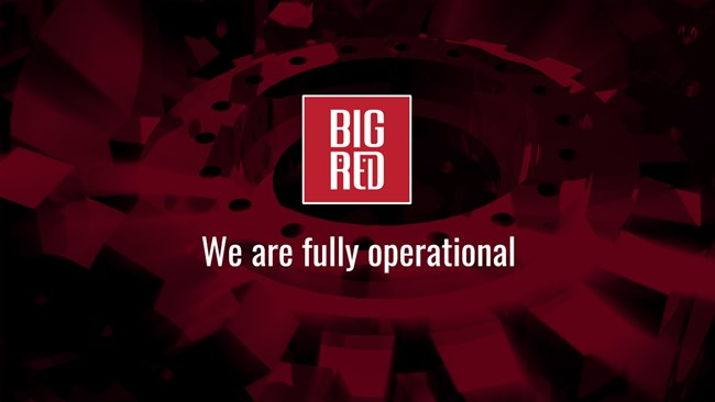 Big Red Are Fully Operational